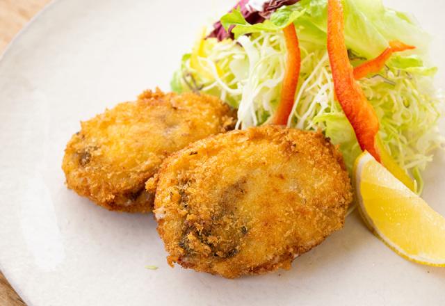牡蠣と焼き舞茸のクリームコロッケ(2ケ入り)