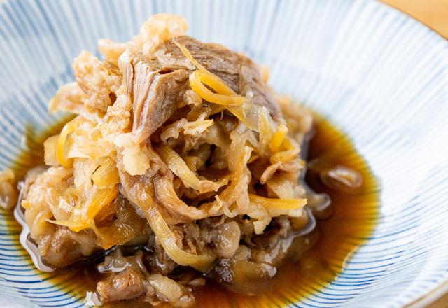 仙台牛とごぼう煮