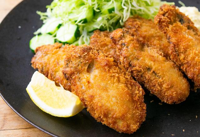 完熟春牡蠣フライ(6個)