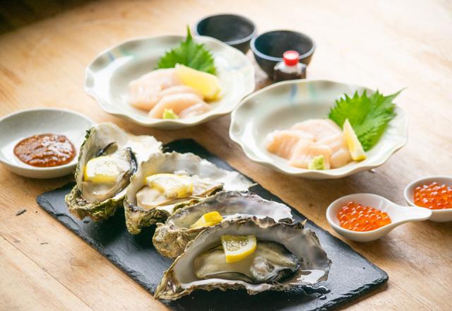 【送料込】生鮮便第59回  帆立といくらと殻付きもまれ牡蠣