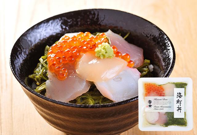斉吉海鮮丼