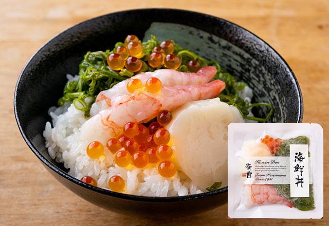 斉吉海鮮丼(甘えび)