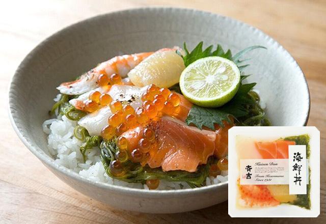斉吉海鮮丼(海老・数の子)