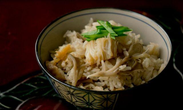 帆立炊き込みご飯4