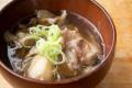 仙台牛、芋煮汁