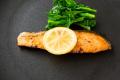 鮭レモンバター焼き