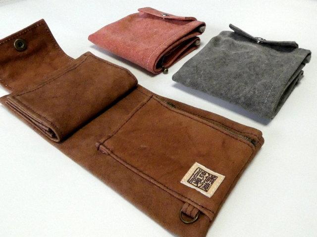 備後浪漫 二つ折り財布[尾道 帆布鞄 彩工房]【メール便可】