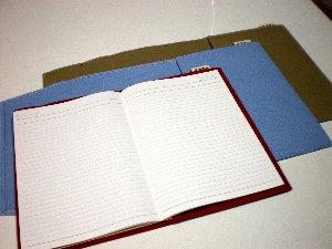 B5サイズ 帆布ノートカバー[尾道帆布鞄 彩工房]【メール便可】