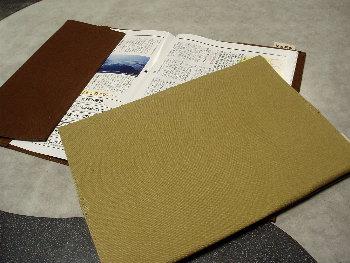 A4サイズ 帆布ノートカバー[尾道帆布鞄 彩工房]【メール便可】