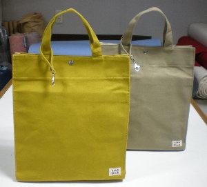 SQU(A4対応)手提げタイプのトートバッグ [尾道 帆布鞄 彩工房]