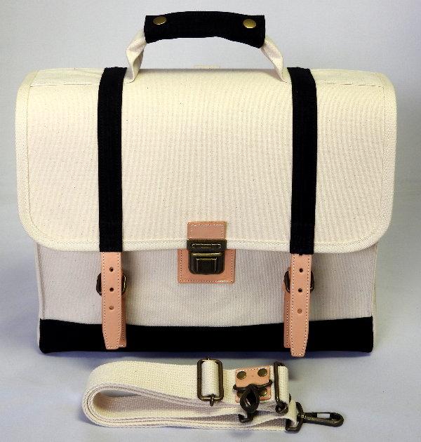 GeberA4(マリン仕様/A4対応)3WAYバッグ(手提げ・ショルダー・リュック)[尾道 帆布鞄 彩工房]