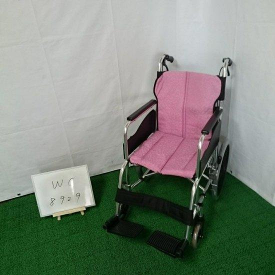 車椅子「介助式車椅子」(パラマウントベッド/KK-T545 MM/介助式/標準タイプ/Aランク)[WC-8929]