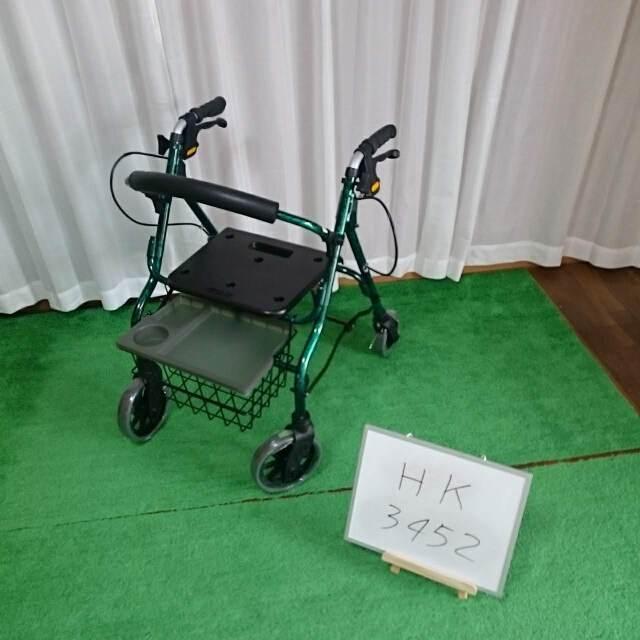 歩行器・杖「セーフティーアームロレータ2」(イーストアイ/RSA2-G/折り畳み式/キャスター付/Bランク)[HK-3452]