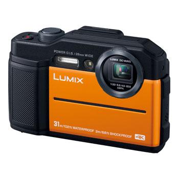 【在庫あり】パナソニック LUMIX DC-FT7-D オレンジ