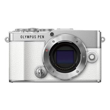 【在庫あり】オリンパス PEN E-P7 ボディ ホワイト【オリンパスキャンペーン対象製品】【選べる5年間延長保証対象(別料金)】