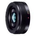 パナソニック LUMIX G 20mm / F1.7 II ASPH. ブラック [H-H020A-K]【メーカー取寄せ品】