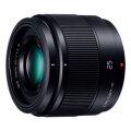 パナソニック LUMIX G 25mm / F1.7 ASPH. ブラック [H-H025-K]【メーカー取寄せ品】