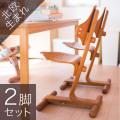 赤ちゃんから大人まで使える 一生ものの椅子 北欧ノルウェー・リボ社フレキシットチェア・ベーシック2脚セット