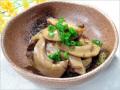 コノシロのタマゴと肝の煮物