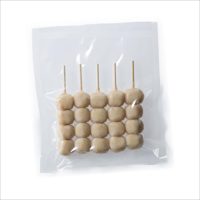 【さと吉】玄米生地4玉 1袋5本入り 業務用1箱60袋(送料無料)冷凍便 だんご 団子 冷凍団子 玄米