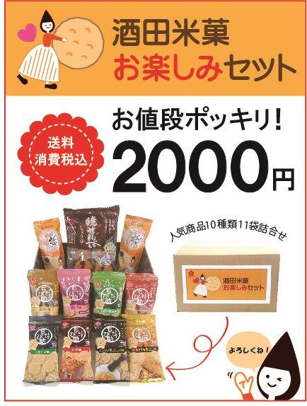 酒田米菓 お楽しみセット