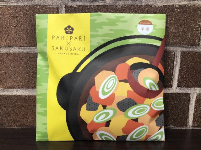 【特別企画 期間限定販売】PARIPARI×SAKUSAKU 芋煮チョコ味 単品