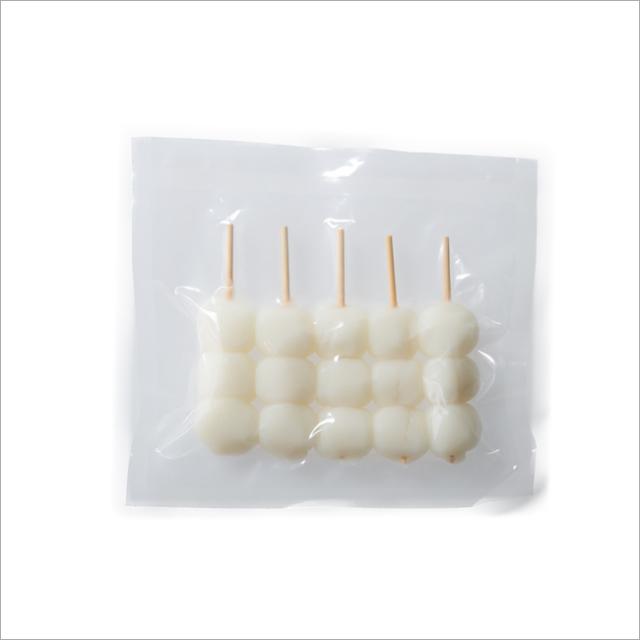 【さと吉】だんご白玉3玉 1袋5本入り  業務用 85袋(送料無料)