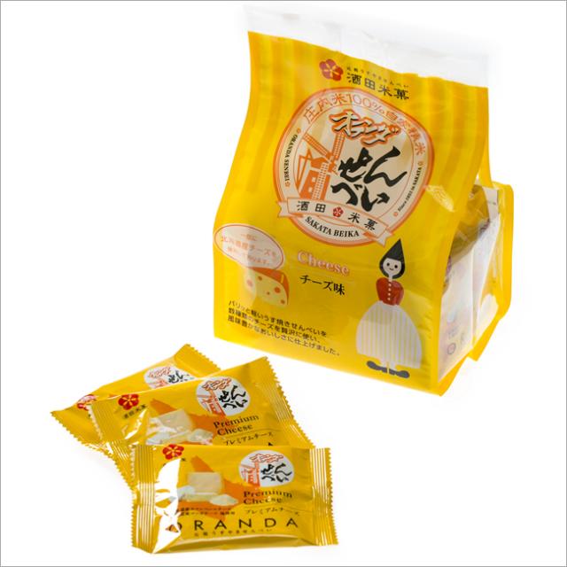 オランダせんべい チーズ味 小袋入(12袋入)