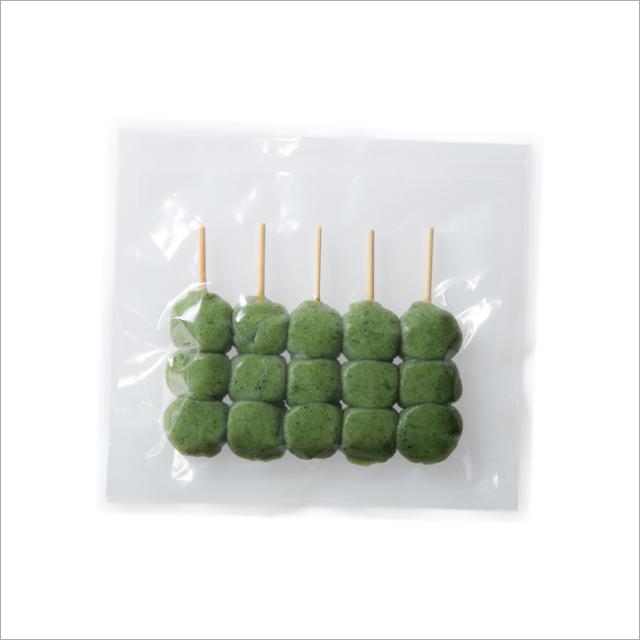 【さと吉】よもぎ生地3玉 1袋5本入り 業務用1箱85袋(送料無料)冷凍便 だんご 団子 ヨモギ