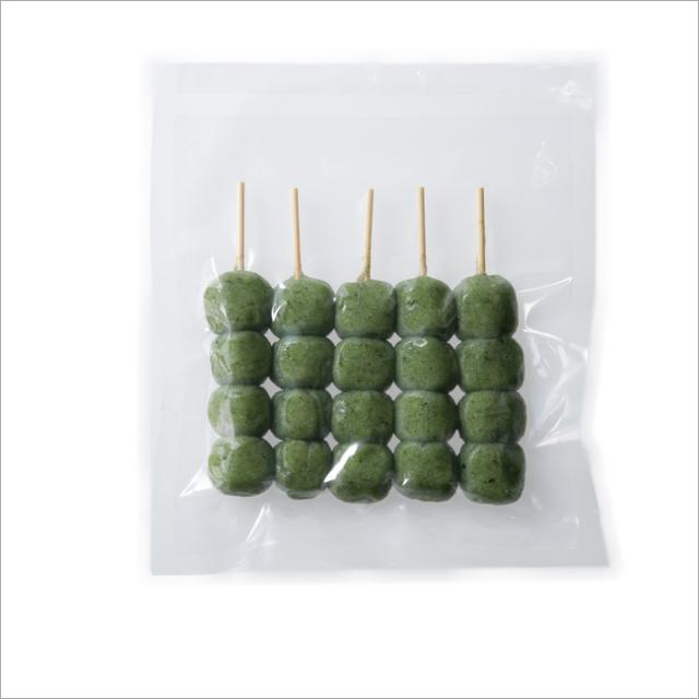 【さと吉】よもぎ生地4玉 1袋5本入り 業務用1箱60袋(送料無料)冷凍便 だんご 団子 ヨモギ よもぎ よもぎ団子 草だんご