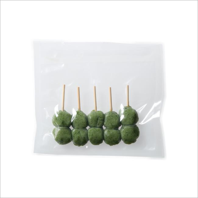 【さと吉】よもぎ生地2玉 1袋5本入り 業務用1箱100袋(送料無料)冷凍便 だんご 団子 ヨモギ