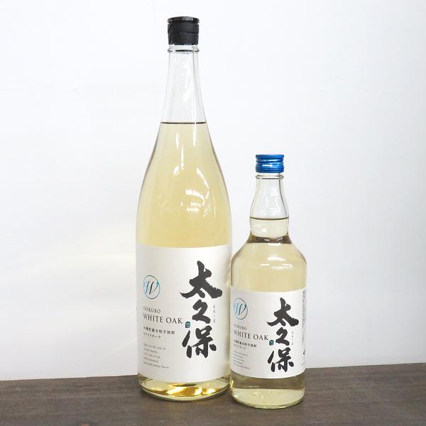 太久保 ホワイトオーク 木樽貯蔵本格芋焼酎 日本酒ショップくるみや