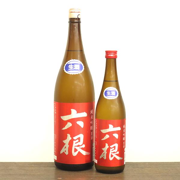 六根 夏酒 生 純米吟醸 弘前の地酒通販 日本酒ショップくるみや