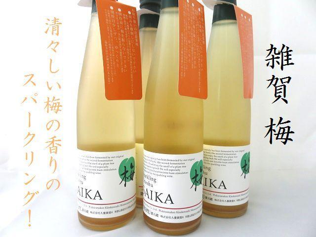 雑賀 スパークリング梅酒 500ml