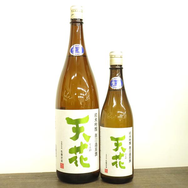 天花 純米吟醸 無濾過生原酒 五百万石 秋田の地酒通販 日本酒ショップくるみや