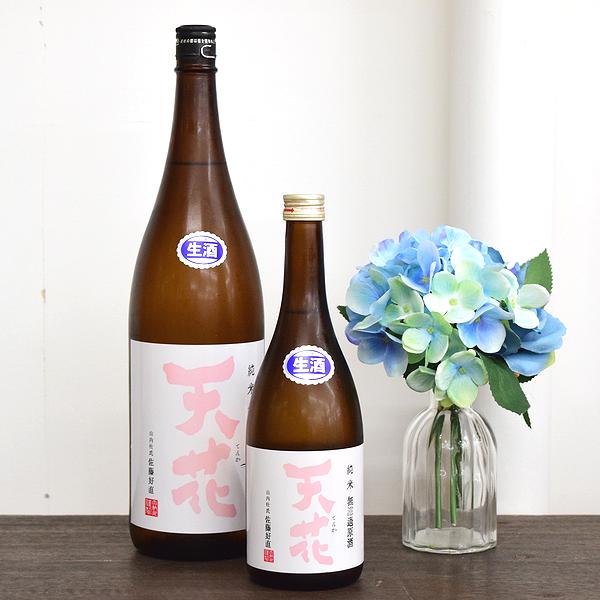 天花 純米無濾過生原酒 めんこいな 秋田の地酒通販 日本酒ショップくるみや