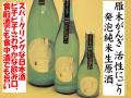 雁木がんぎ 活性にごり発泡純米生原酒 日本酒通販 日本酒ショップくるみや