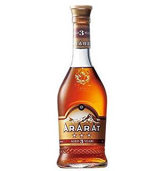 アルメニア・アララット3年 3スター(40度/500ml)(2020056)