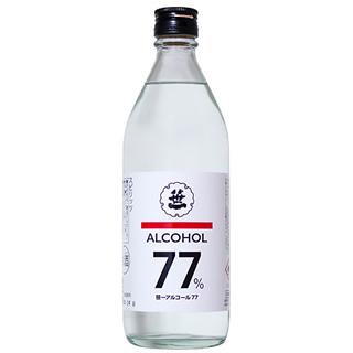 笹一アルコール77 (77度/500ml)_笹一77_【消毒液の代用に!】