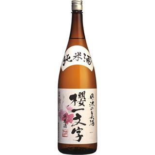 櫻一文字 純米酒 (15度/1.8L)