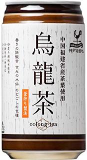 神戸居留地・ウーロン茶(185)1ケース・30本入(9999022)