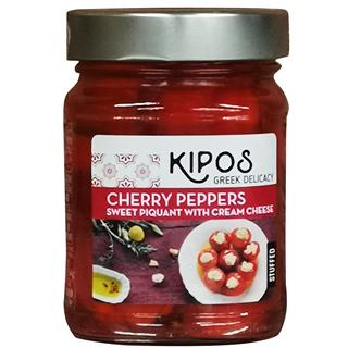 キポス・グリルド・スイートチェリーペッパー・クリームチーズ入り(230g)(9999957)