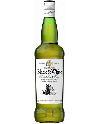 <特価>ブラック&ホワイト (40度/700ml)