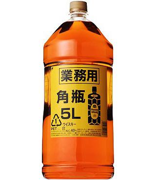 角瓶 ペットボトル(5L)(1051111)