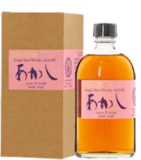 シングルモルトあかし日本酒カスク4年 (50度/500ml)(1054075)