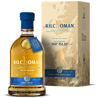 キルホーマン・100%アイラ 9年 10thリリース (50度/700ml)(正規)(1311790)<予約商品・12月初旬より出荷予定>¶