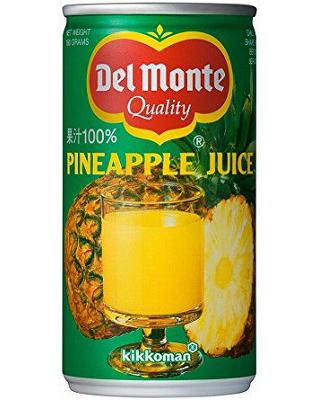 デルモンテ・パイナップルジュース缶(190)(30008)