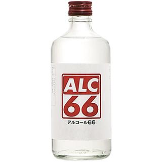 【次回5月上旬~中旬入荷予定】篠崎 ALC66 レッド (66度/500ml)_【消毒液の代用に!】¶
