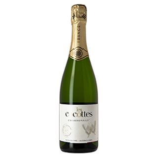 【ハラール認証・ヴィーガン】[脱アルコール・スパークリングワイン]  レ・ココット・シャルドネ  (750ml)(5900854)
