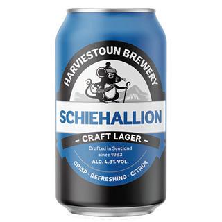 ハービストン シェハリオン・クラフトラガー 缶 1ケース (4.8度/330ml×24本)<予約商品・10月末頃より出荷予定>¶